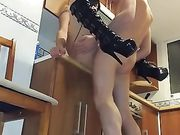 Een Duitse anale seks met de vriendin